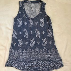 Maurices 24/7 paisley tank